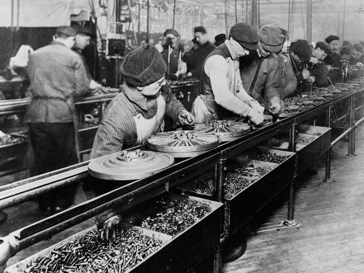Fabriken Fr 252 Her Und Heute Umwelt Im Unterricht