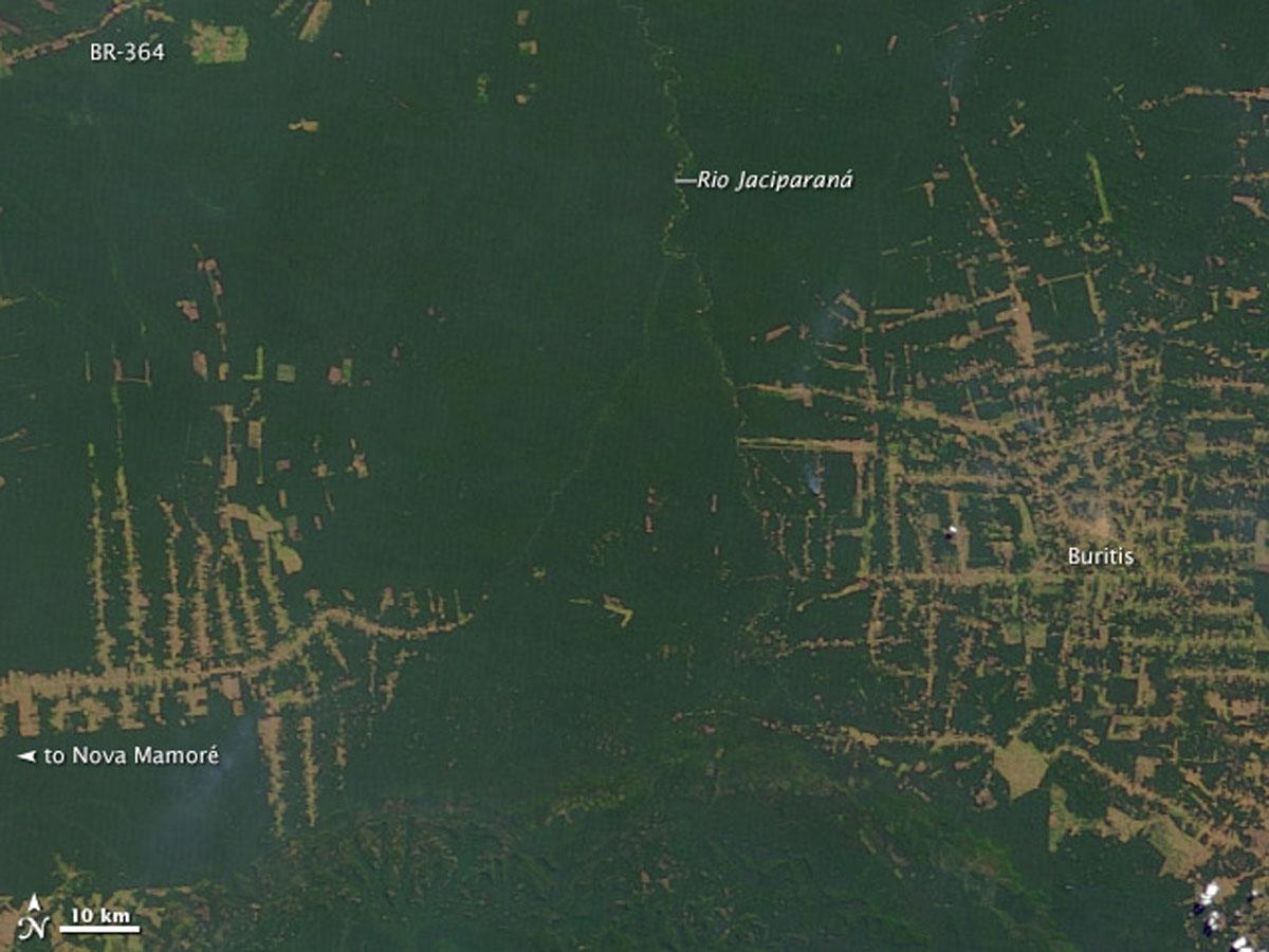 Satellitenbilder – Wie der Mensch die Erde verändert | Umwelt im ...