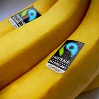 Bananen mit Fairtrade-Siegel